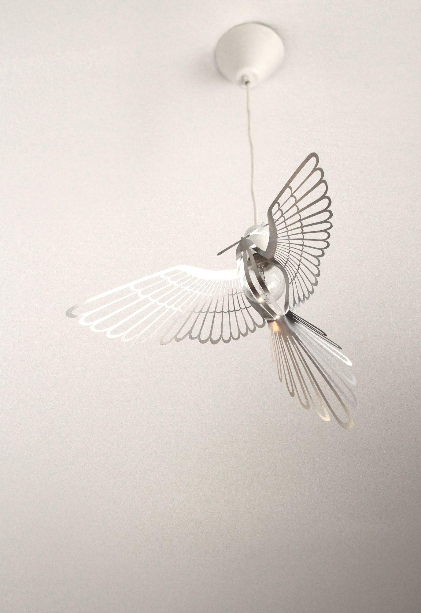 Image of BIRD LIGHT SILVER