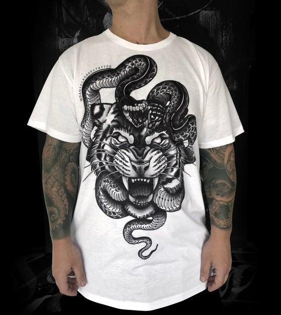 Image of Tiger & Snake - Men's Shirt