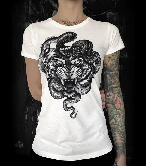 Image of Tiger & Snake  - Girl's Shirt