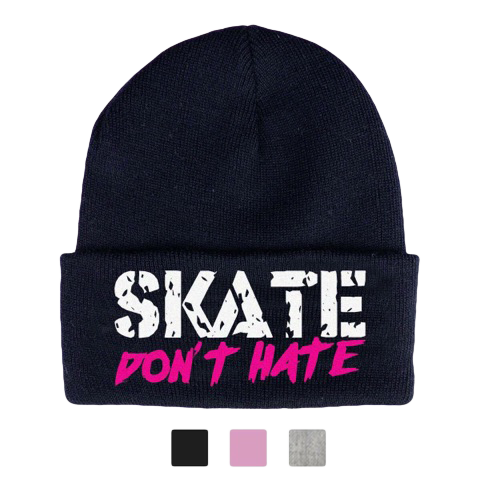 Image of Skate Don't Hate Beanie