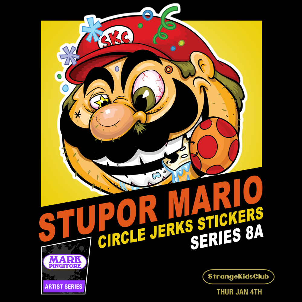 Image of CIRCLE JERKS STICKERS™ SERIES 8a