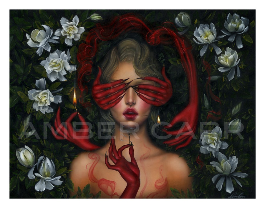 """Image of Fire and Flowers 11"""" x 14"""" Print"""