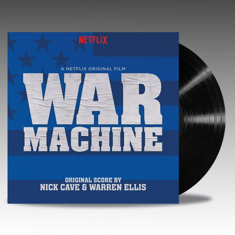Image of War Machine (Original Score) 2 x LP 'Black Vinyl' - Nick Cave And Warren Ellis
