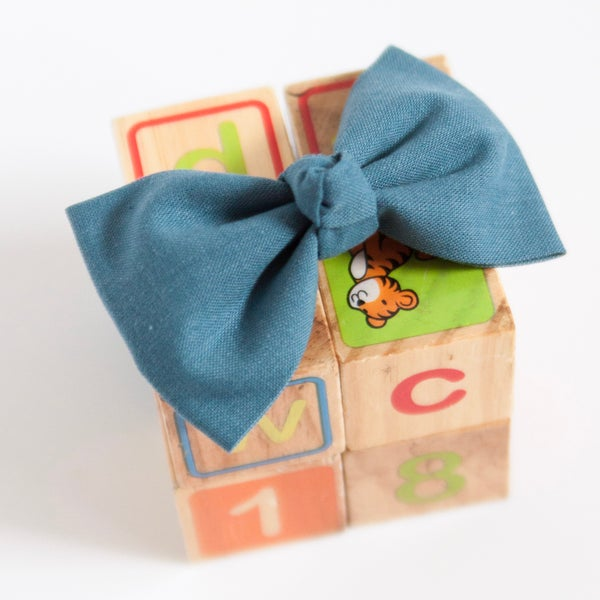 Image of Chambray Ballet Bow