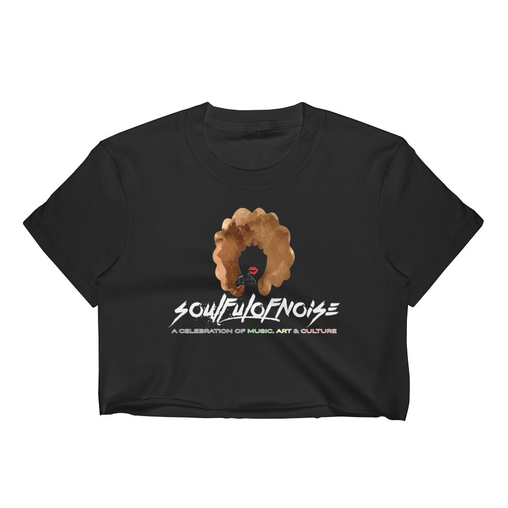 Image of SoulfulofNoise Crop Top Black