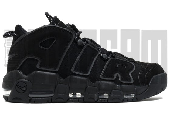 "Image of Nike AIR MORE UPTEMPO ""BLACK REFLECTIVE"""