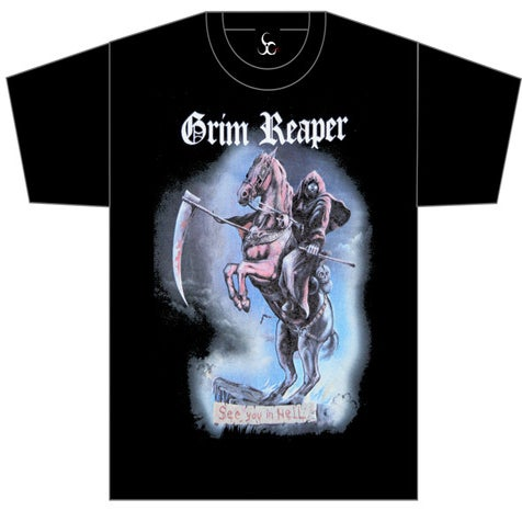 Grim Reaper Rock You To Hell
