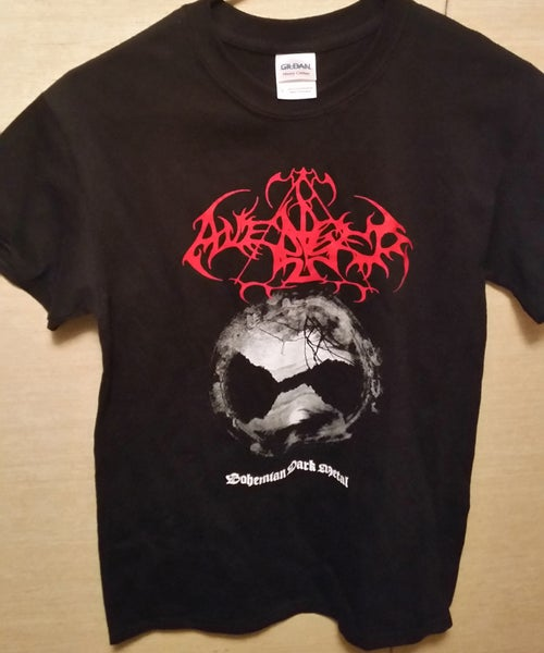 "Image of AVENGER ""Bohemian Dark Metal"" T-SHIRT"