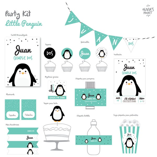 Image of Party Kit Little Penguin