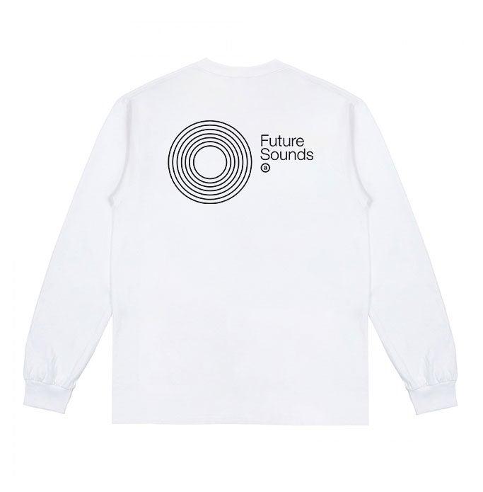 Image of Future Sounds L/S T-shirt (White)