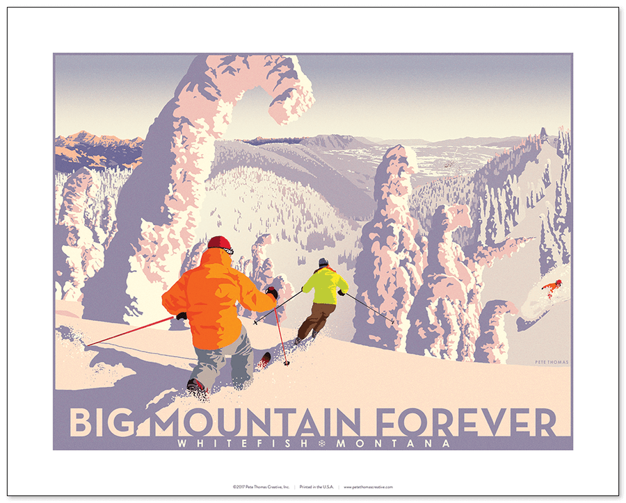 Image of Big Mountain Forever Poster