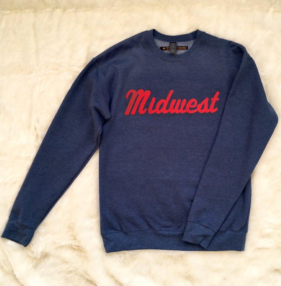 Image of Midwest Unisex Flock Sweatshirt