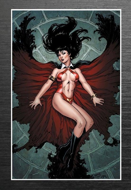 Image of Rebekah Isaacs / Vampirella Signed Print