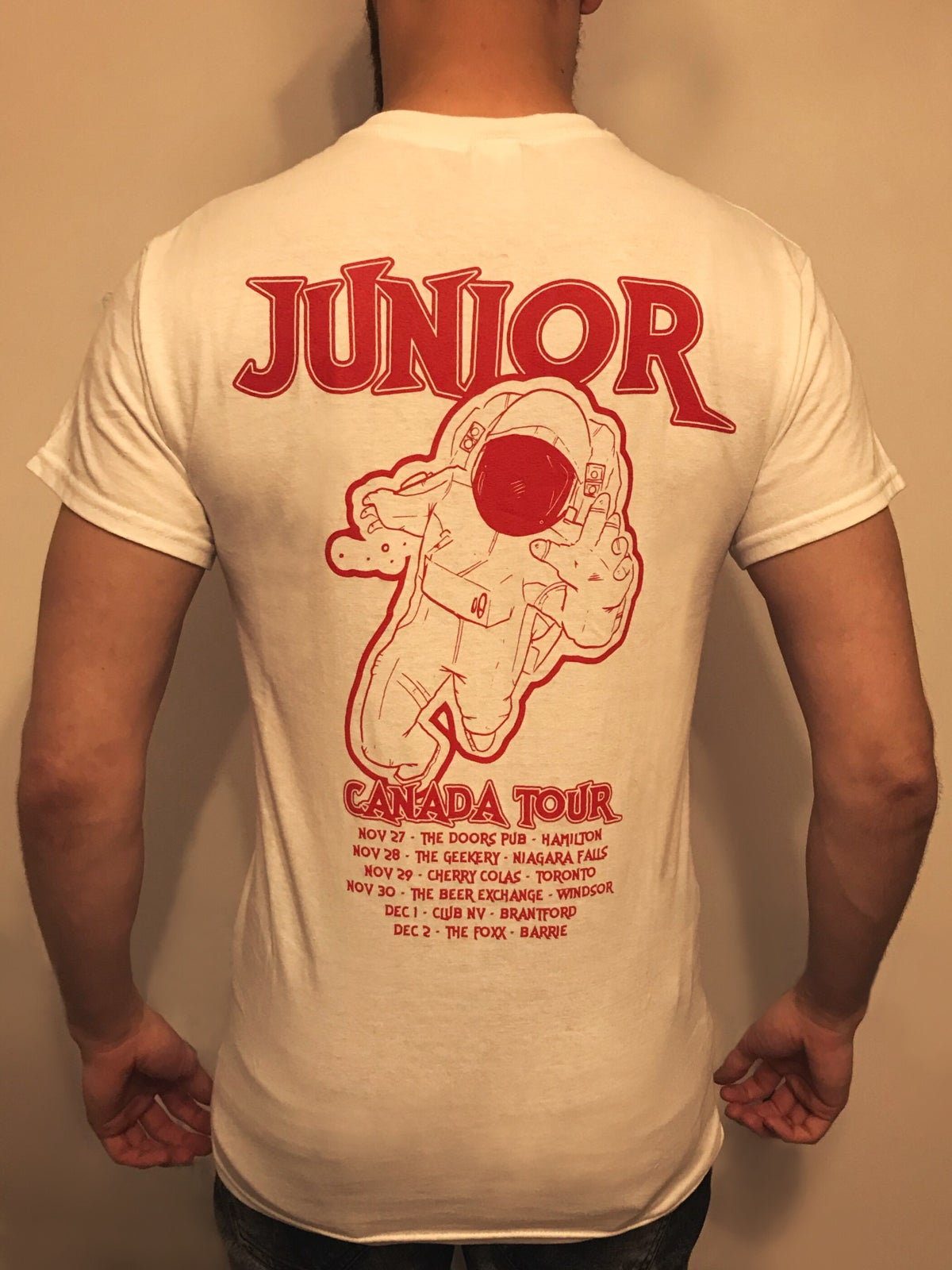 Image of Canadian Tour Shirts