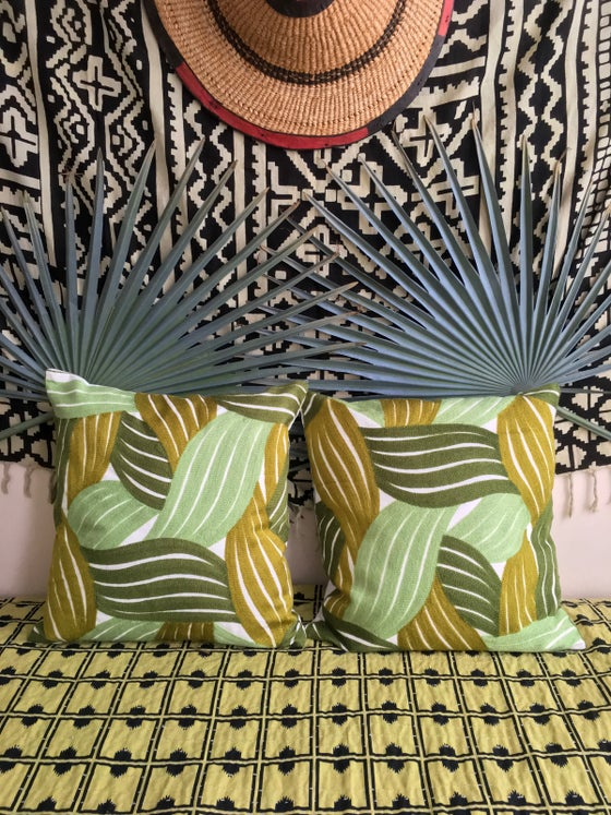 Image of •Ida• tropic pillow