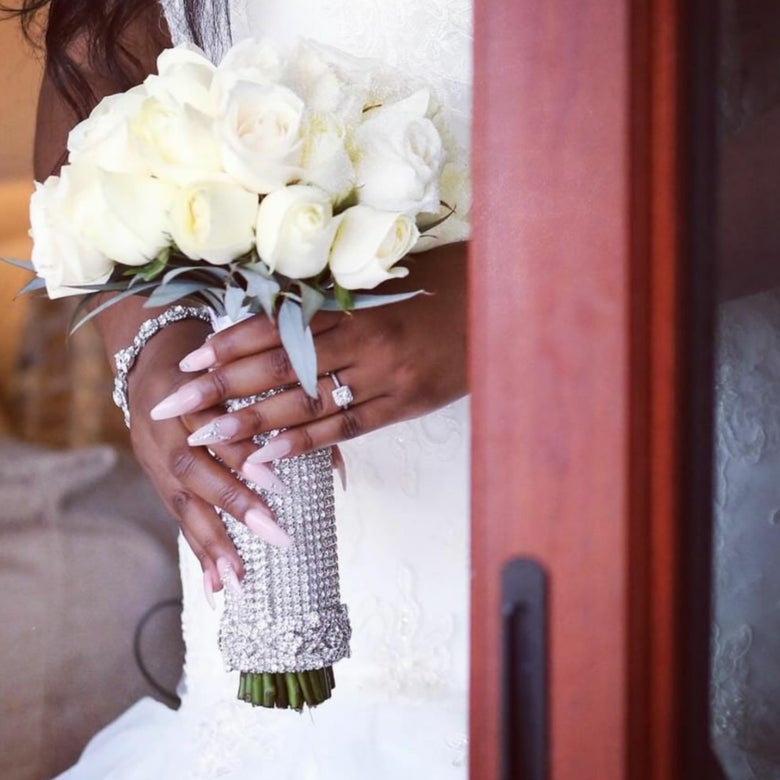 """Image of """"Jessica"""" Bouquet Holder"""