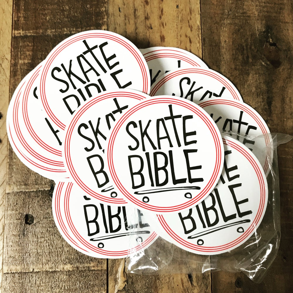 Image of SKATE BIBLE STICKERS