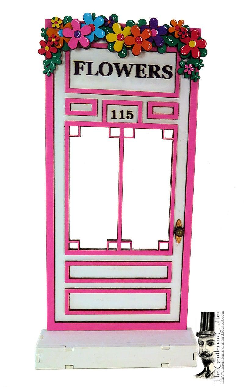 Image of #115 Fairy Lane- Florist's Door