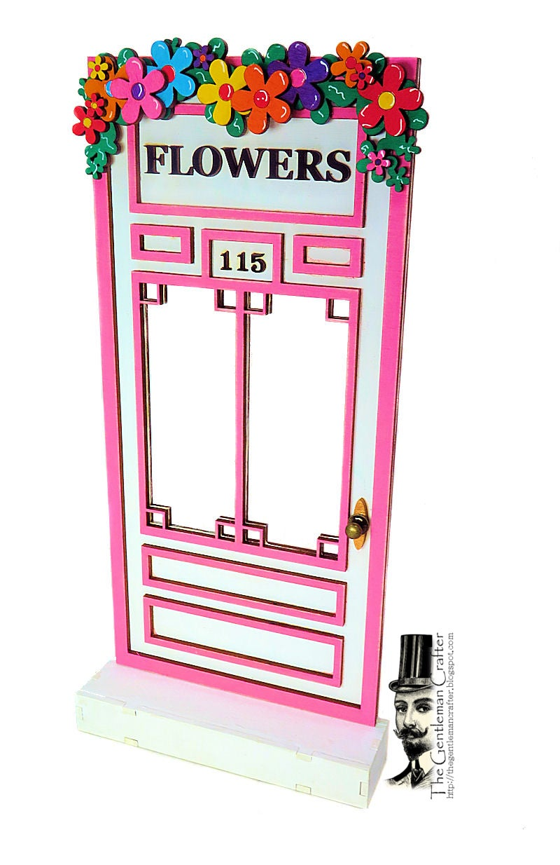 Image of #115 Fairy Lane- Florist's Door