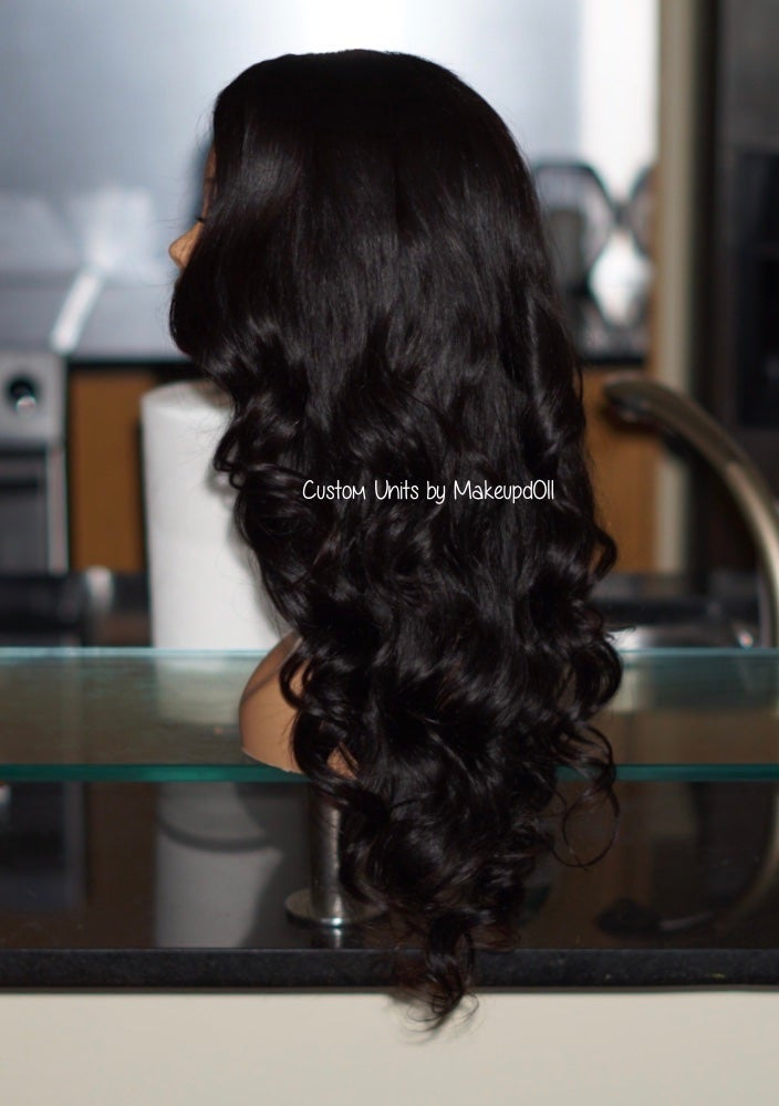 "Image of Brazilian Body Wave 24"" Custom Lace Closure Wig!"