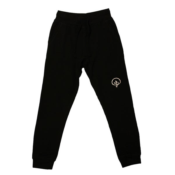 Image of D Logo Jogger Sweatpants (Black)