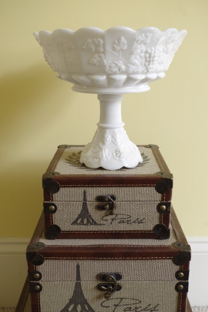 Image of Milk Glass Compote