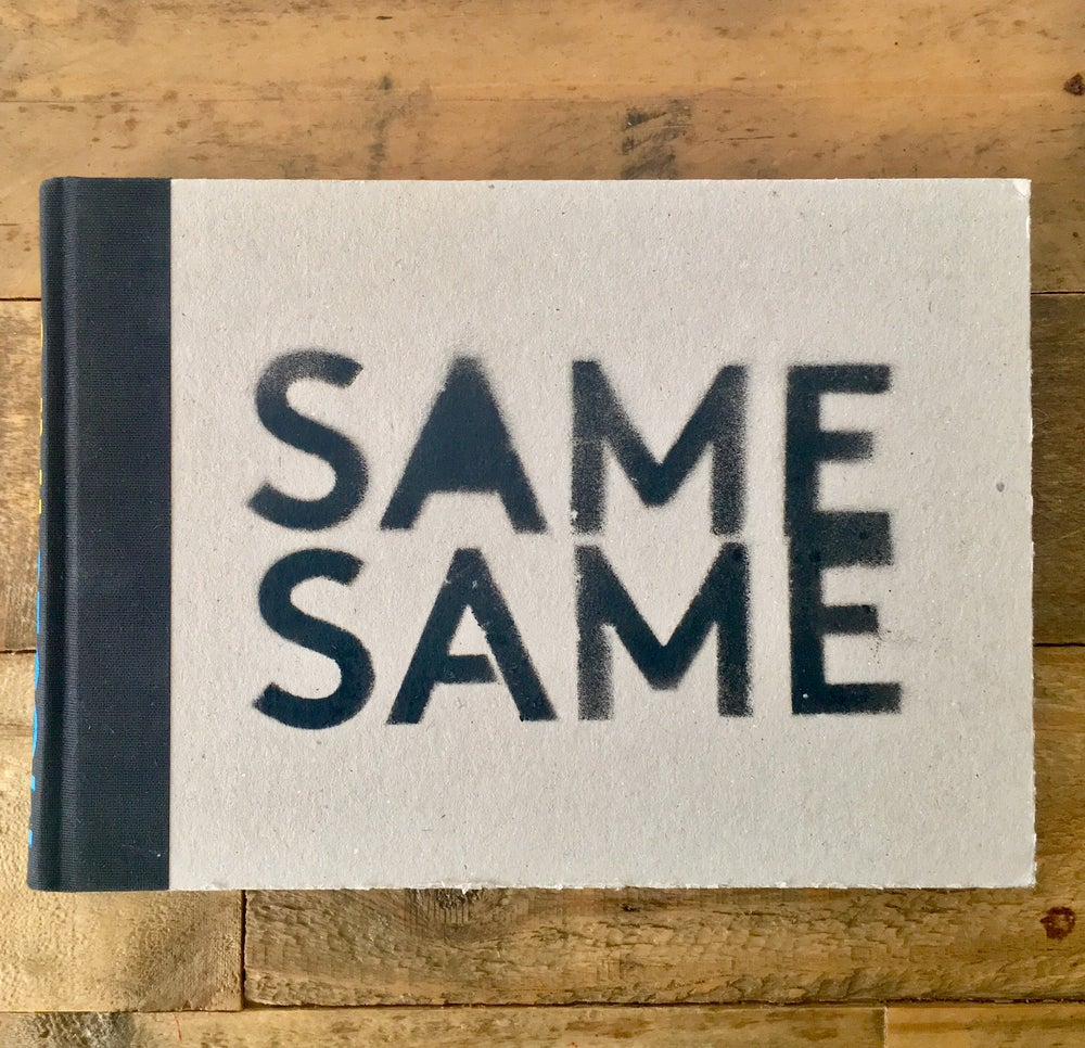 Image of SAME SAME - MOSES & TAPS ™   2004 Limited Edition book