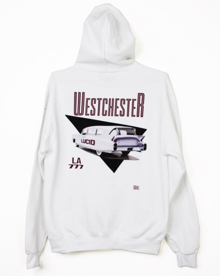 Image of WESTCHESTER HOODIE (WHITE)