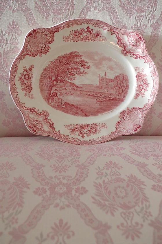 Image of Pink Transferware