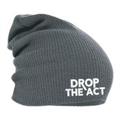"Image of ""Drop The Act"" Logo Beanie"