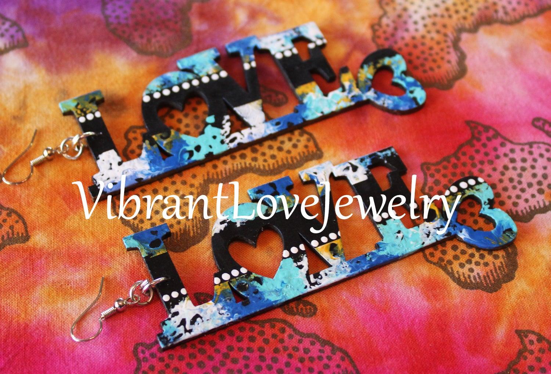 Image of Love Earrings!