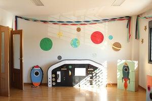 Image of Panel de mandos fiesta extraterrestre