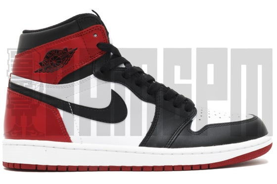 "Image of Nike AIR JORDAN 1 RETRO HIGH OG ""BLACK TOE 2016"""
