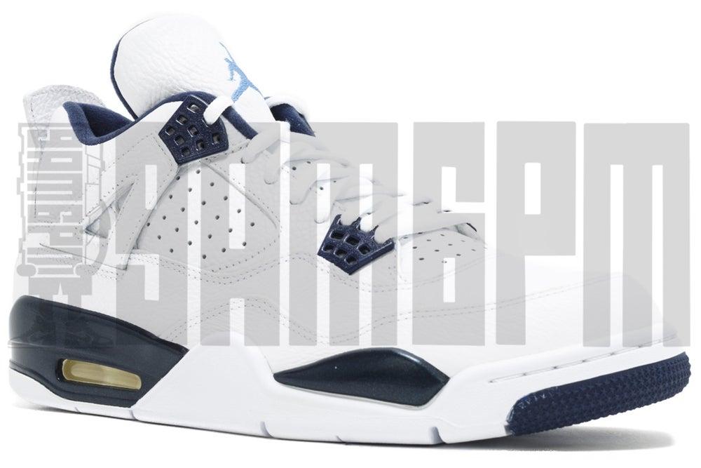 "Image of Nike AIR JORDAN 4 RETRO LS ""LEGEND BLUE"""