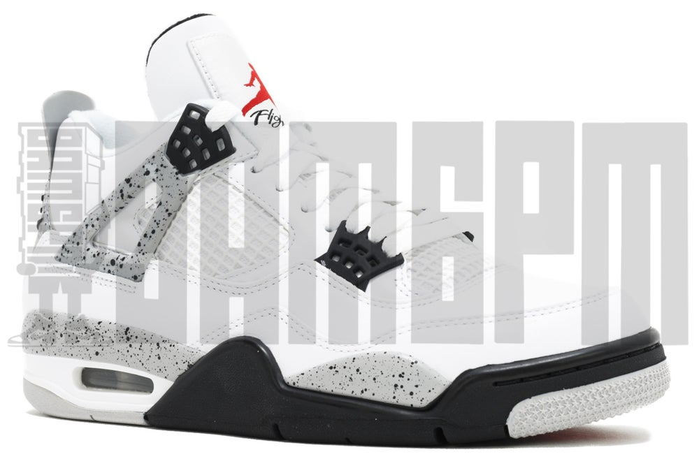 "Image of Nike AIR JORDAN 4 RETRO OG ""WHITE CEMENT 2016"""