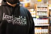 """Image of Leave Your Mark """"Breaking The Law"""" Hoodie"""