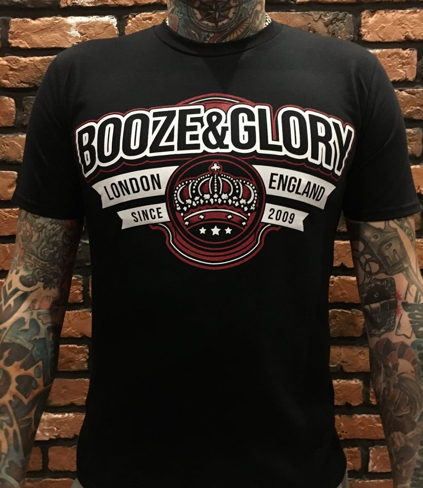 Image of Booze & Glory CROWN Tshirt