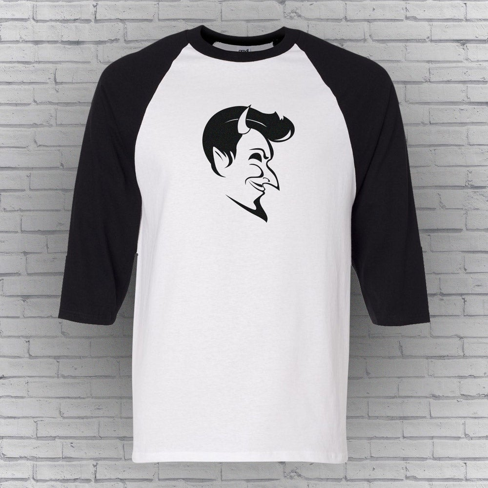 Image of Slick Devil 3/4 Raglan T *Free US Shipping*