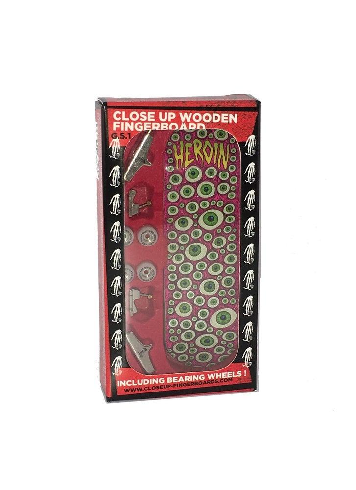 Image of Close Up Fingerboard G5.1 Complete Heroin Eyeballs
