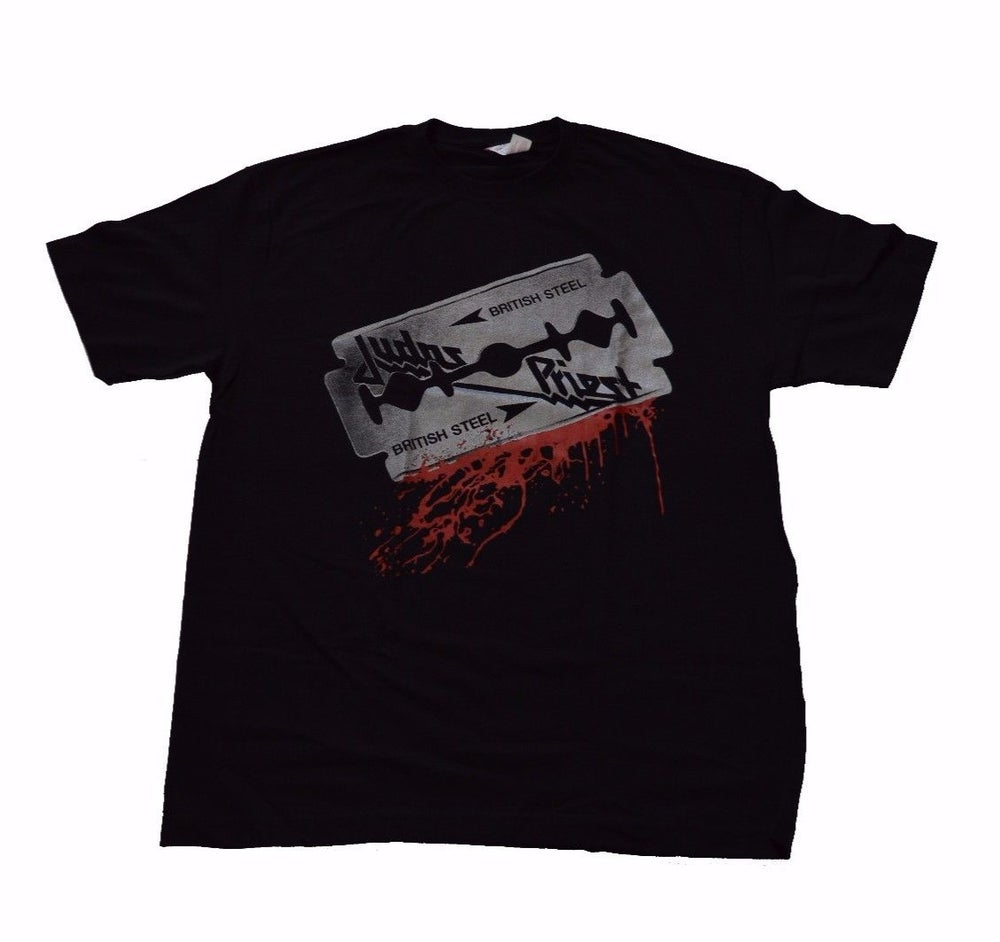 Image of Judas Priest British Steel Tshirt L