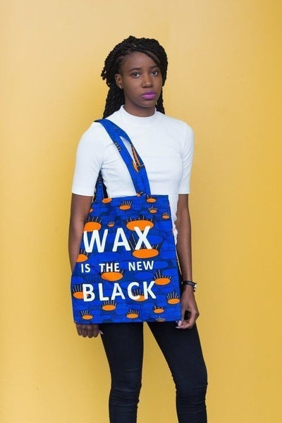 Image of Tote Bag Tam Tam Wax Is The New Black 20% OFF