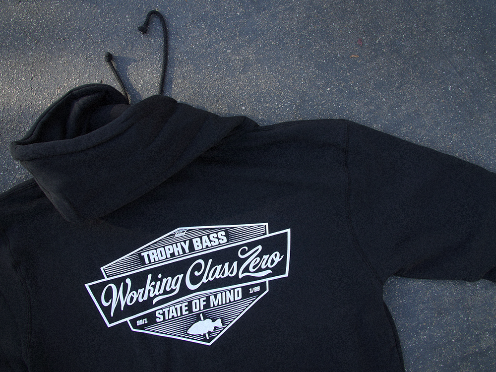 Image of TRADITION PULLOVER HOOD BLACK
