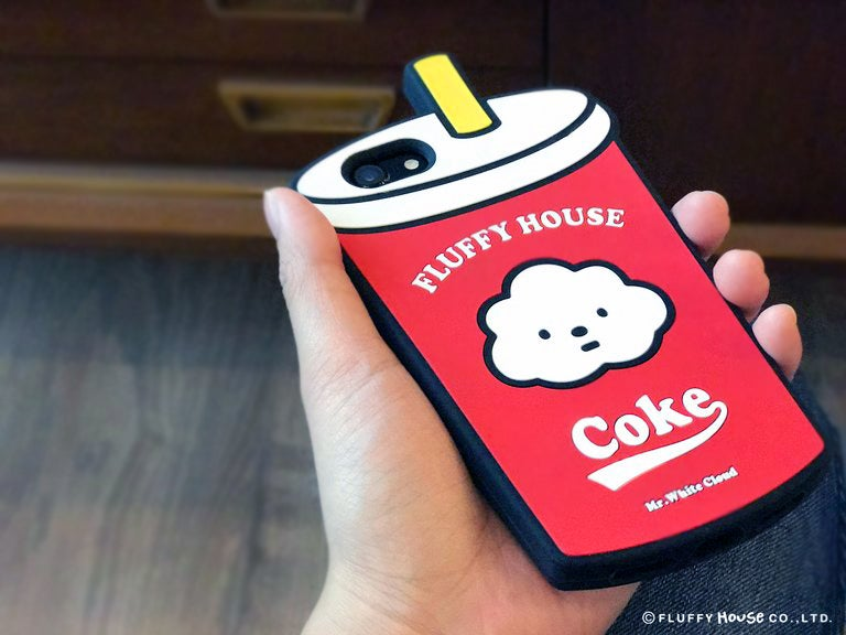 Image of Fluffy iPhone Case