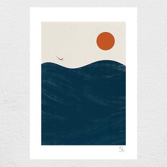 Image of Dive Print