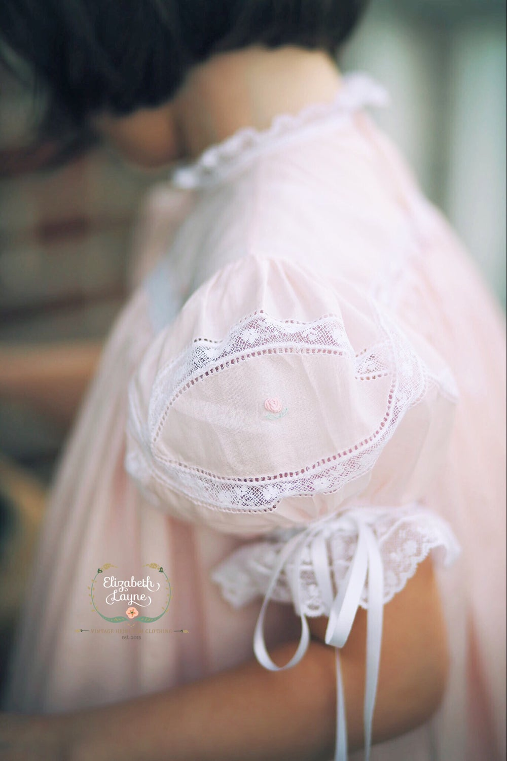 Image of The 'Clara' Wedding Ring Heirloom Dress