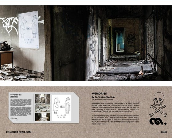 Image of No More Chess - Burnt out Corridor