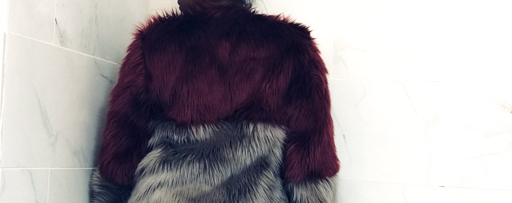 Image of Color Block Fur