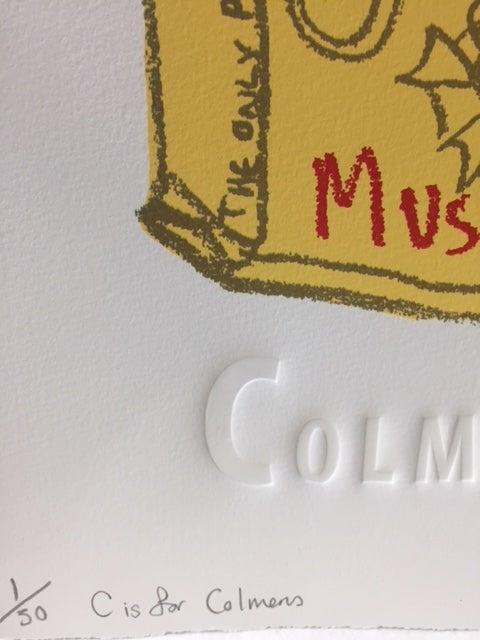 Image of C is for Colmans- Original sketch