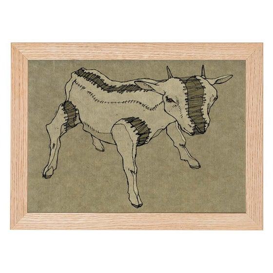 Image of Goat Print