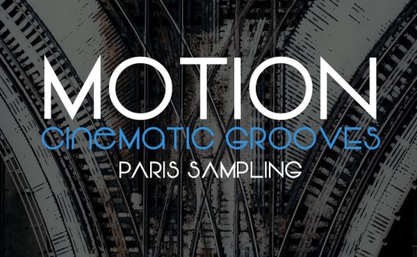 Image of Motion Cinematic Grooves for Kontakt